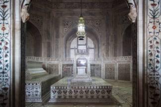 Tomb inside of Taj Mahal, Agra, India