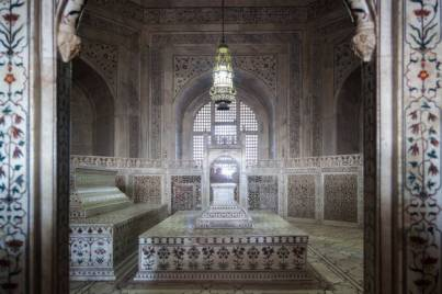 Tomb inside of Taj Mahal, Agra, India